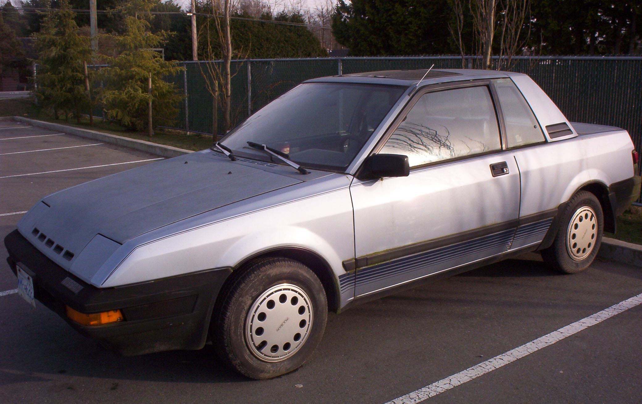 Nissan Pulsar II (N12) 1982 - 1986 Cabriolet #7