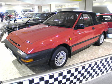 nissan pulsar ii n12 1982 1986 cabriolet outstanding cars rh carsot com Nissan EXA Back Removed Exa Nissan Racer