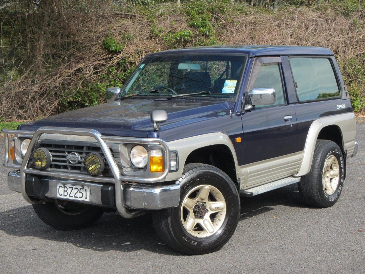 Nissan Safari IV (Y60) 1989 - 1997 SUV 3 door #7