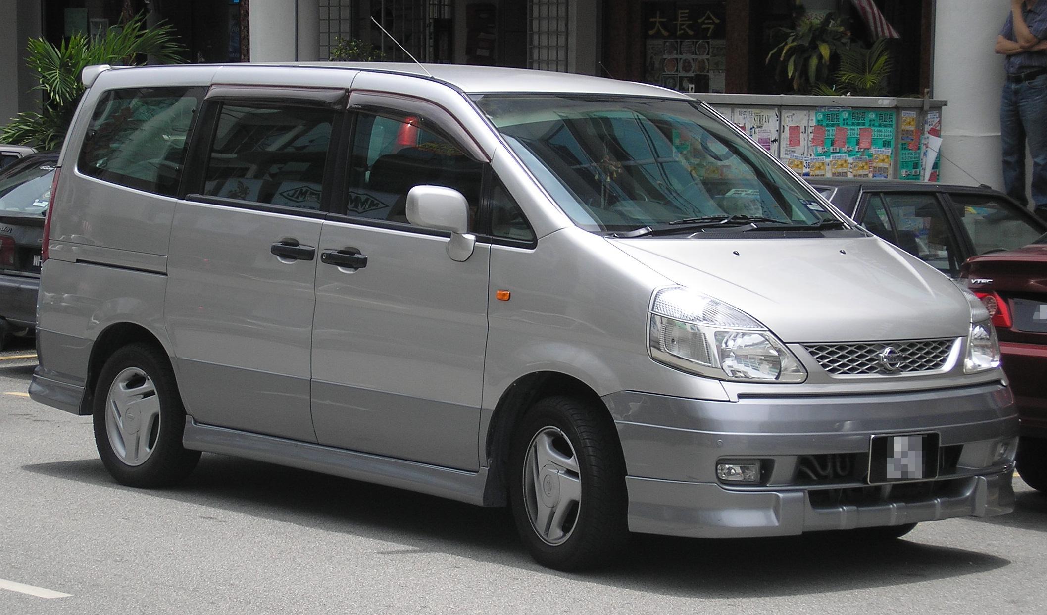 Nissan Serena I (C23) 1991 - 2002 Compact MPV #1