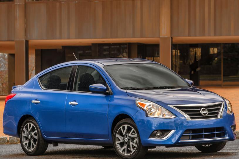 Nissan Versa II Restyling 2014 - now Sedan #4