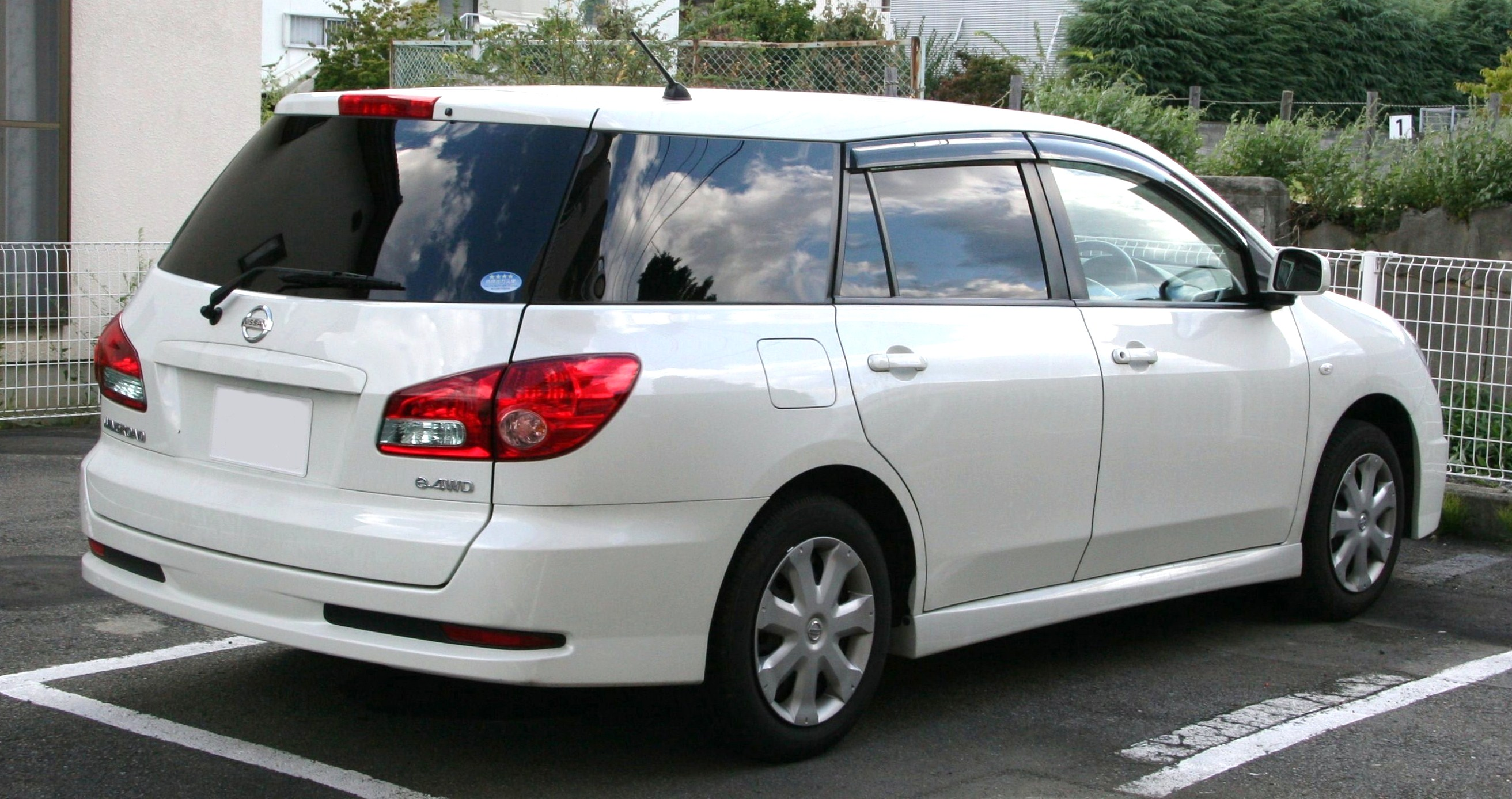 Nissan Wingroad III (Y12) 2005 - now Station wagon 5 door #6