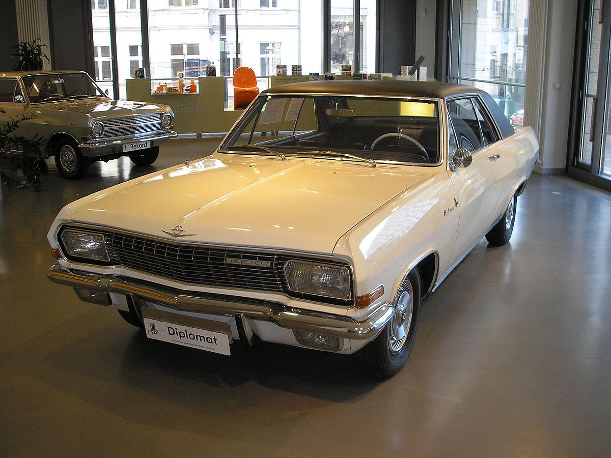 Opel Diplomat B 1969 - 1978 Sedan #7