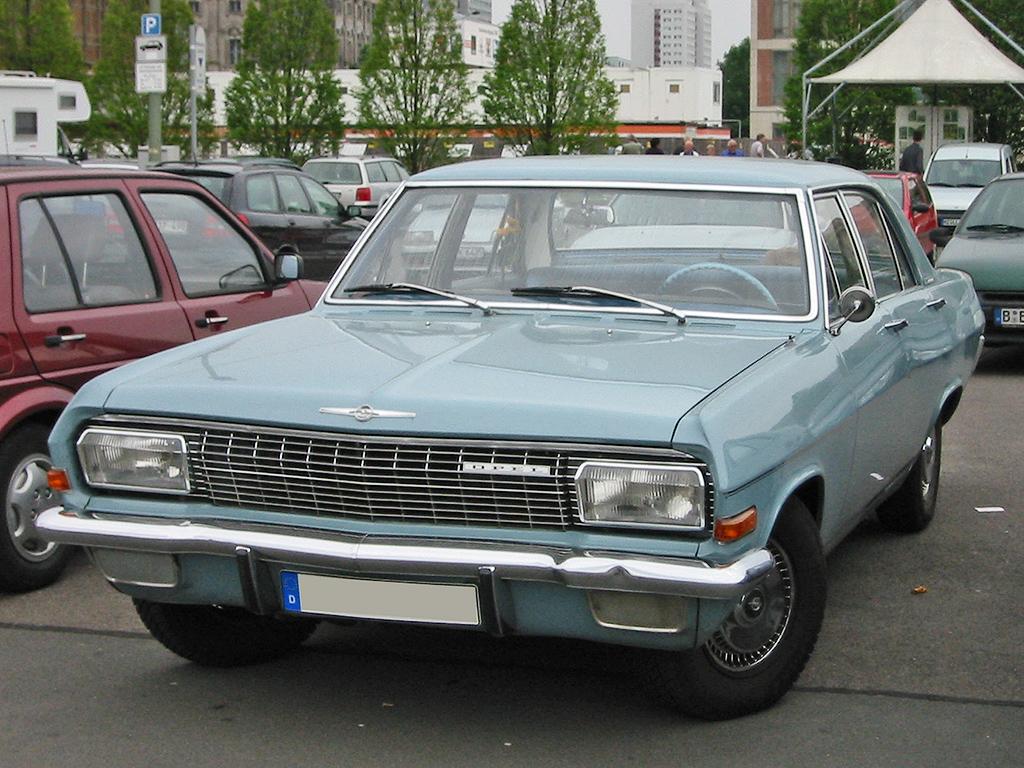 Opel Diplomat B 1969 - 1978 Sedan #3