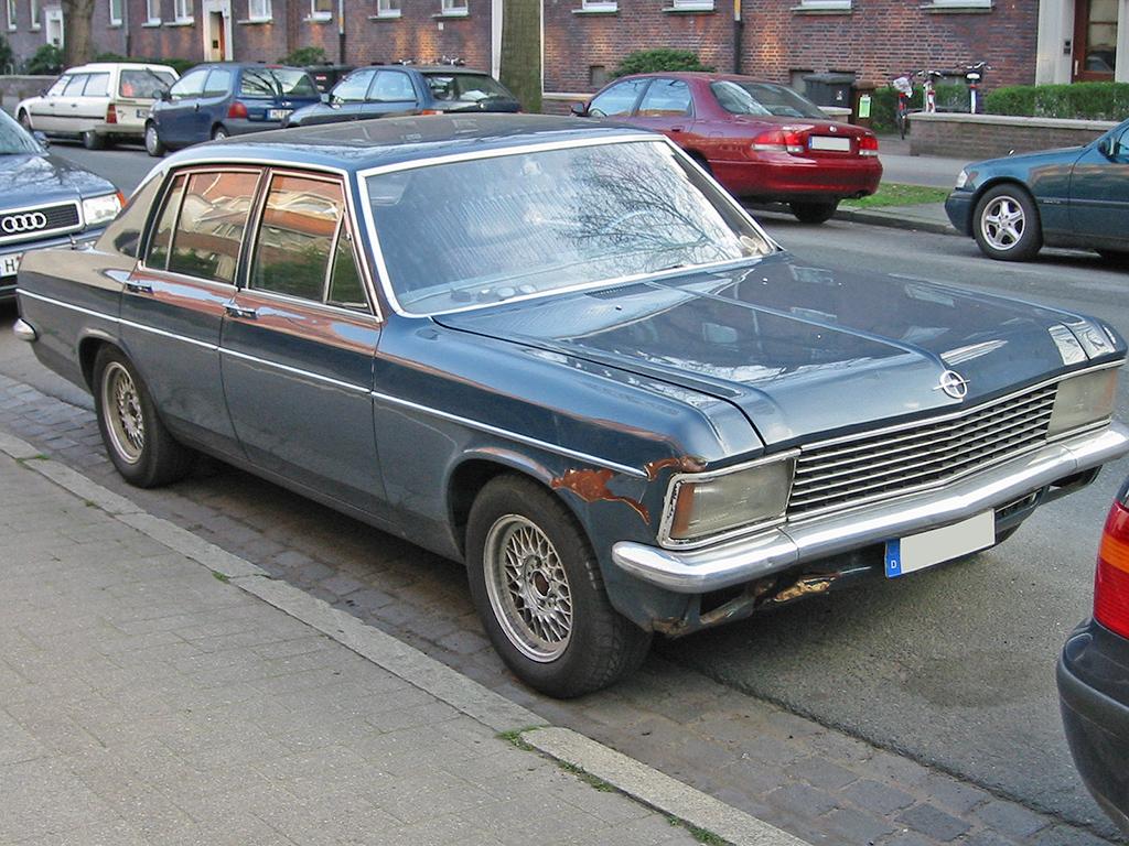 Opel Diplomat B 1969 - 1978 Sedan #1
