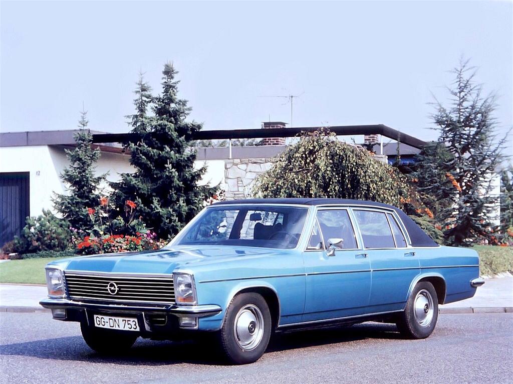Opel Diplomat B 1969 - 1978 Sedan #4