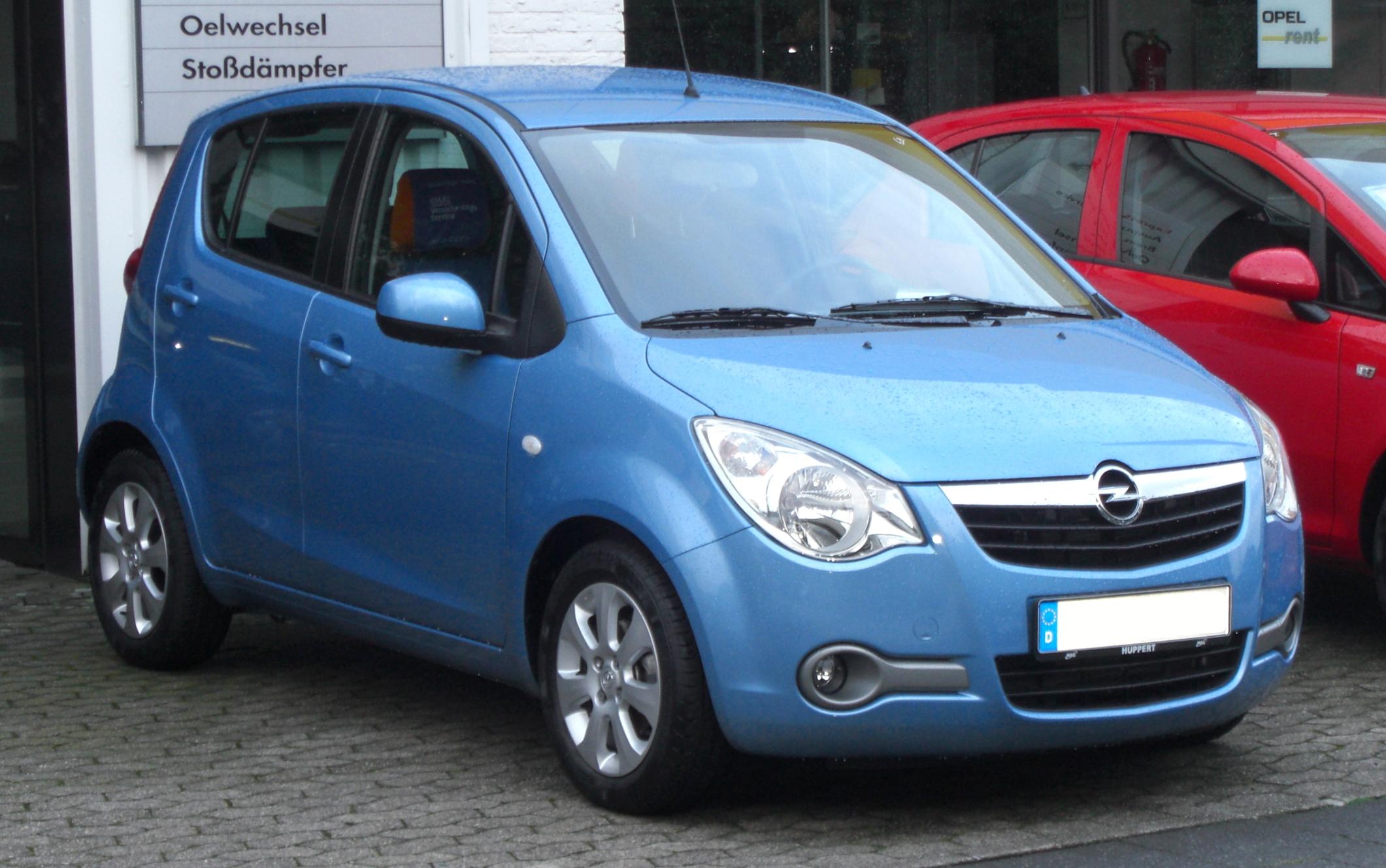 Opel Agila B 2007 - 2014 Hatchback 5 door #5