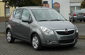Opel Agila B 2007 - 2014 Hatchback 5 door #2