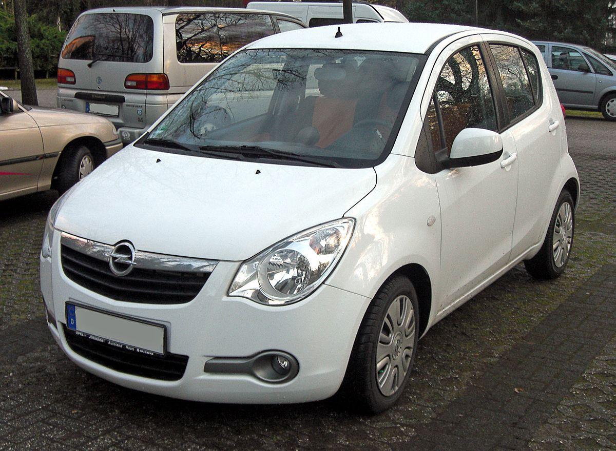 Opel Agila B 2007 - 2014 Hatchback 5 door #8