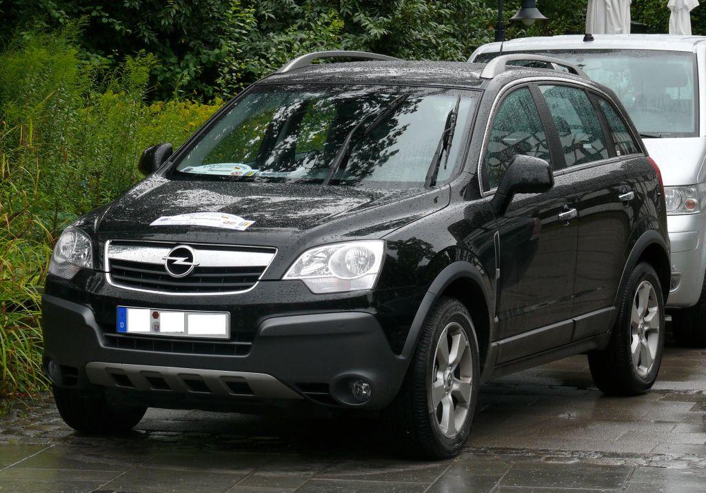 Opel Antara I 2006 - 2010 SUV 5 door #5