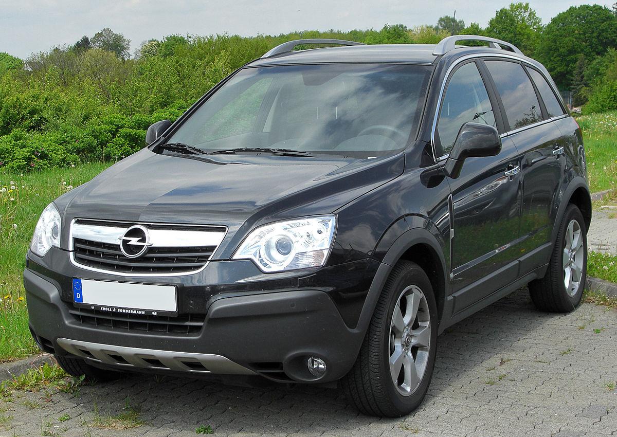Opel Antara I 2006 - 2010 SUV 5 door #7