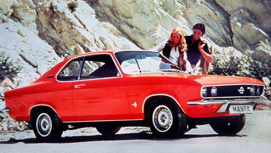 Opel Manta A 1970 - 1975 Coupe #4