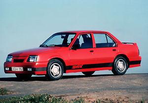 Opel Ascona C 1981 - 1988 Coupe #1