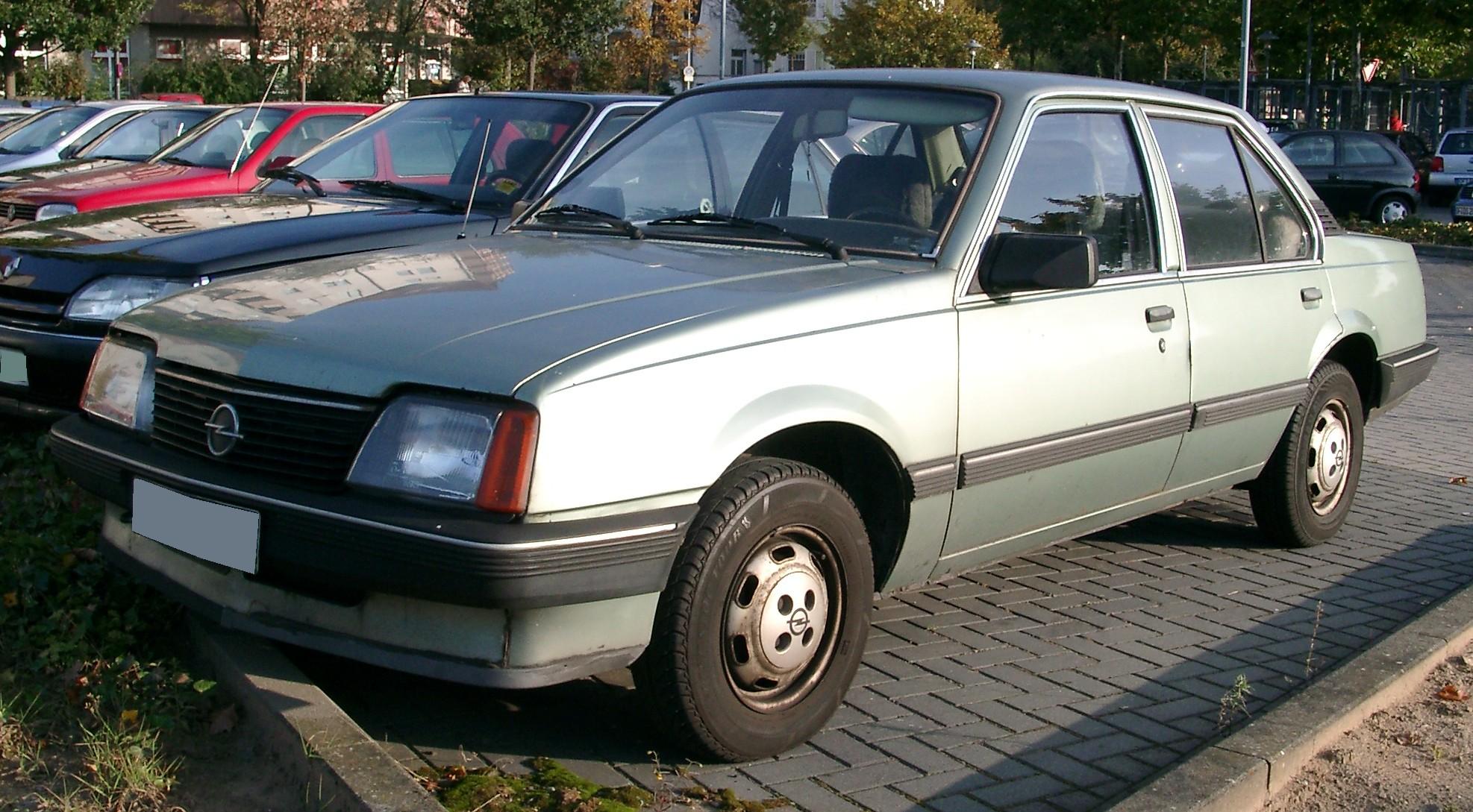 Opel Ascona C 1981 - 1988 Coupe #2