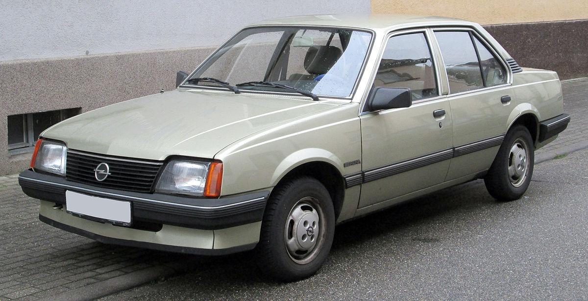 Opel Ascona C 1981 - 1988 Coupe #8