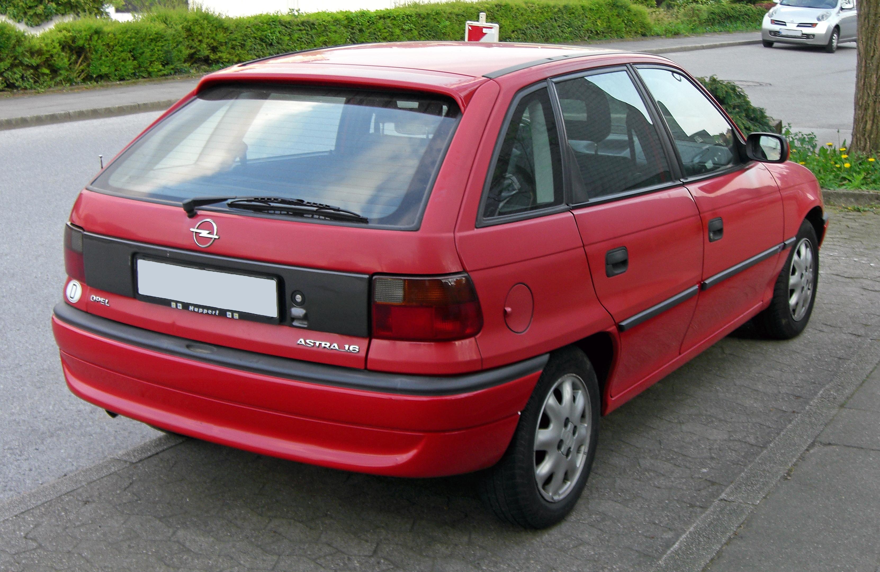 Opel Astra F 1991 - 2000 Cabriolet #3