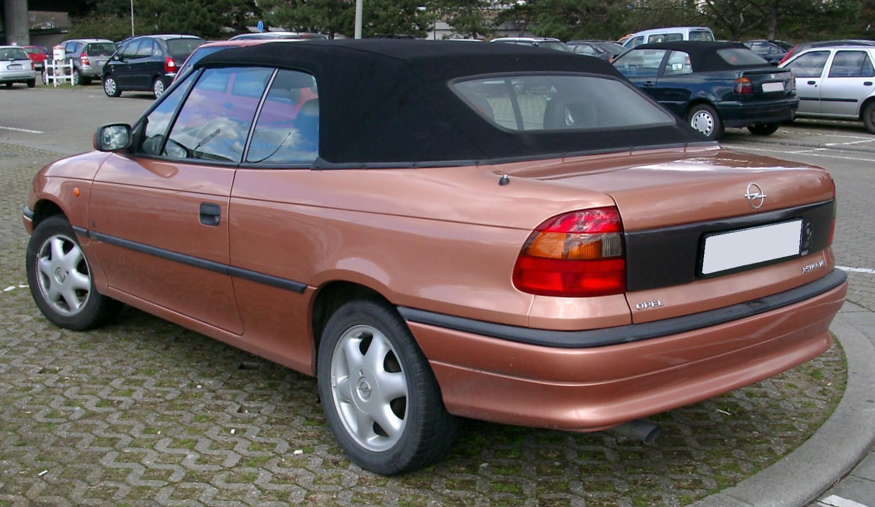 Opel Astra F 1991 - 2000 Cabriolet #1