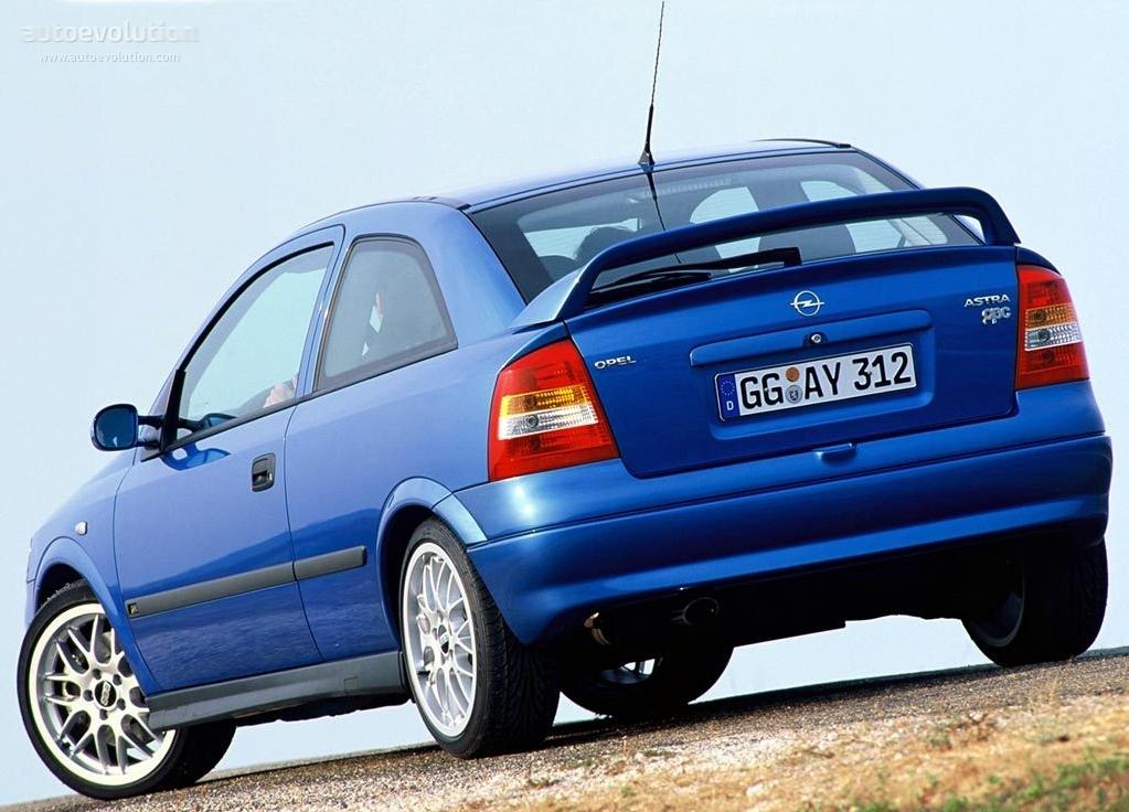 Opel Astra OPC G 1999 - 2001 Hatchback 3 door #5