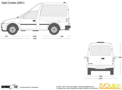 Opel Combo B 1993 - 2001 Van #2