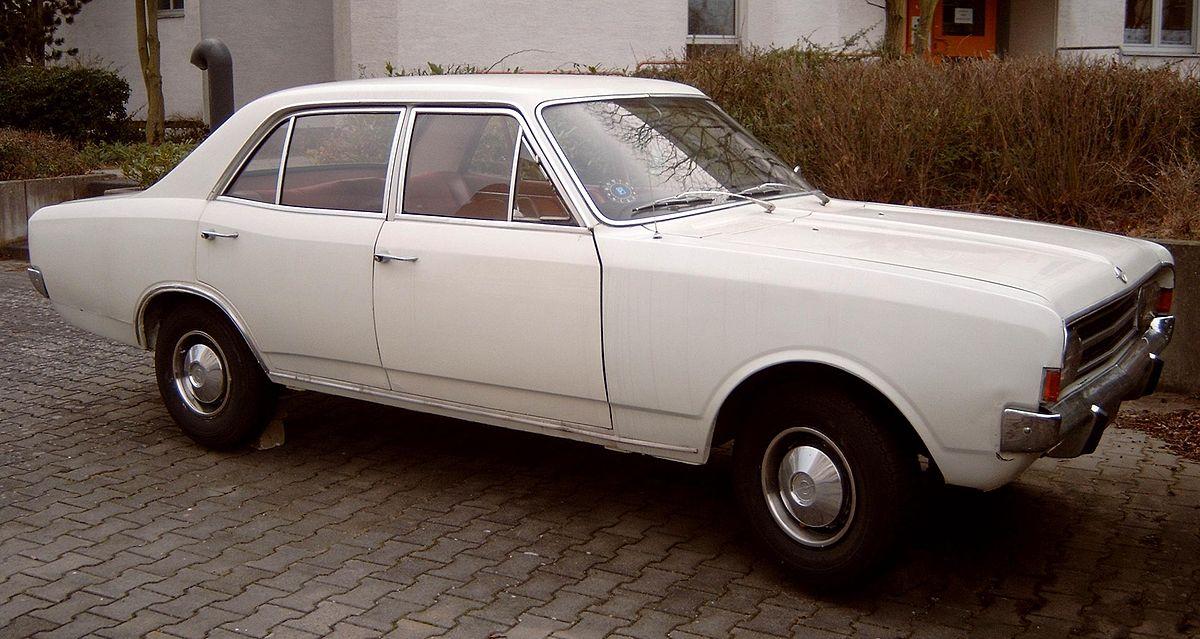 Opel Olympia A 1967 - 1970 Sedan #1