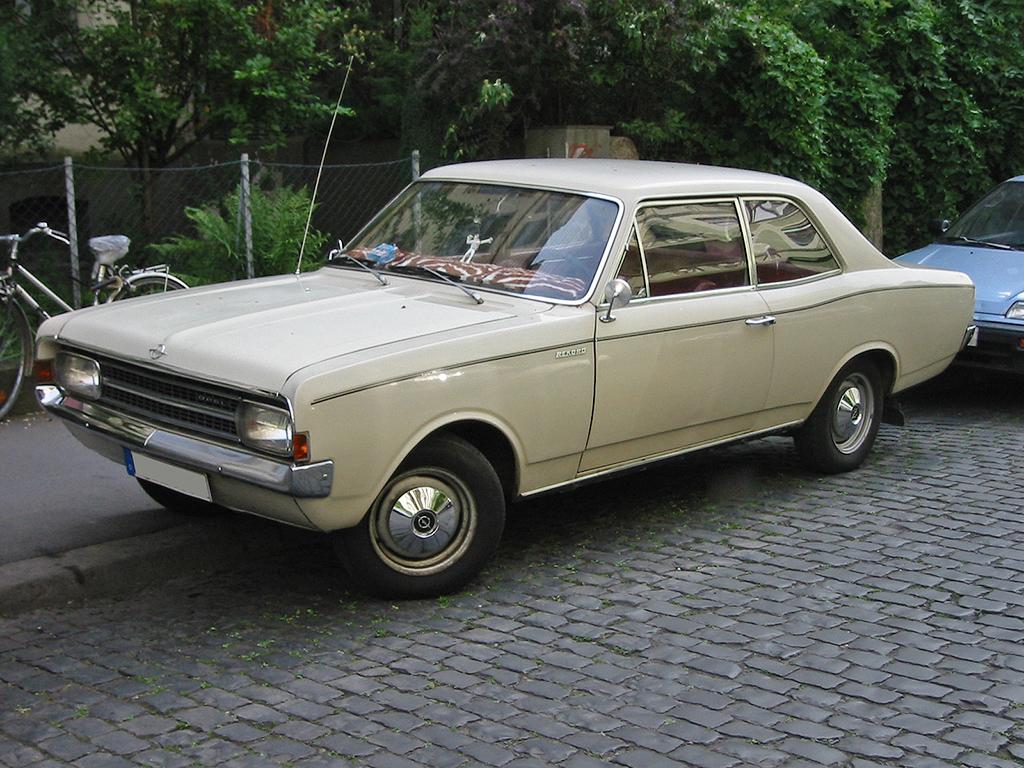 Opel Olympia A 1967 - 1970 Sedan #3
