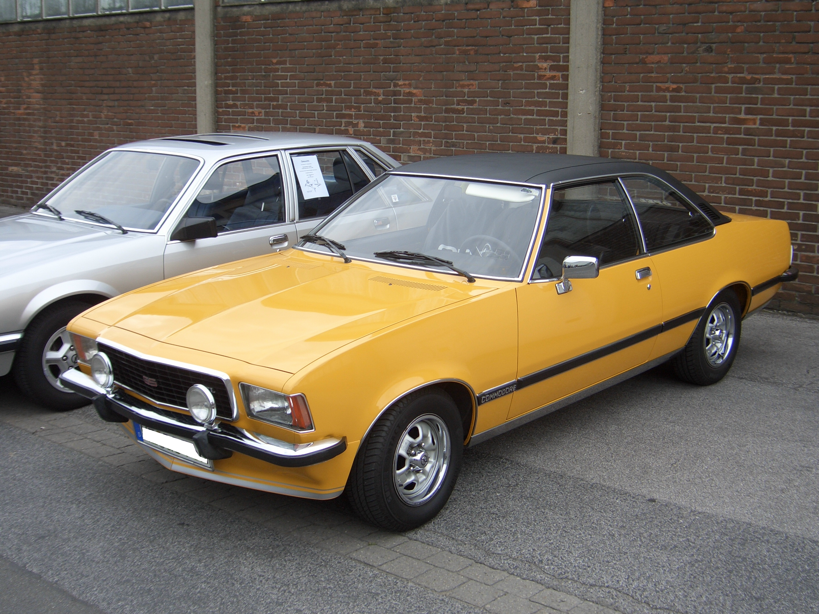 opel commodore b 1972 1978 coupe outstanding cars. Black Bedroom Furniture Sets. Home Design Ideas
