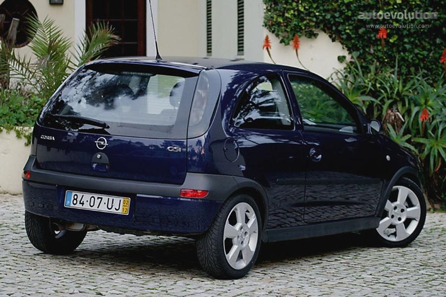 Opel Corsa C 2000 - 2003 Hatchback 5 door :: OUTSTANDING CARS
