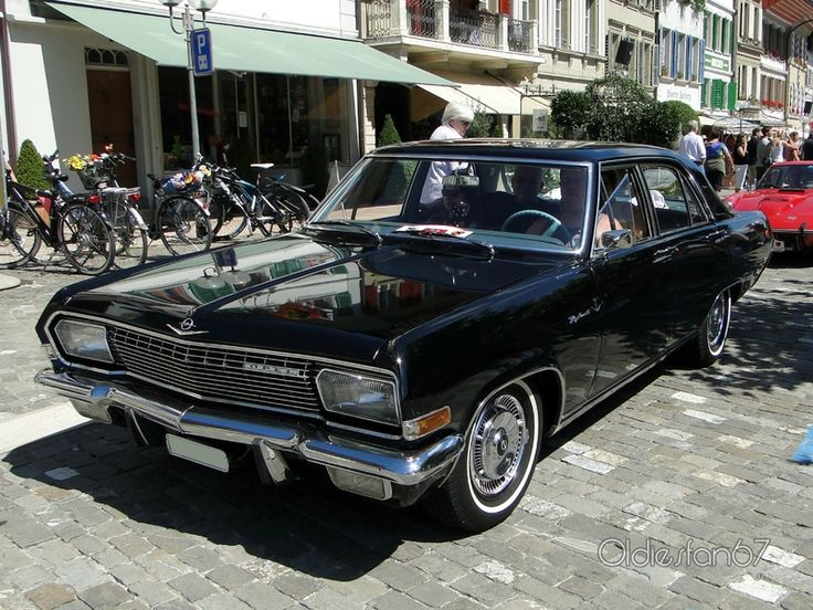opel diplomat a 1964 1968 sedan outstanding cars. Black Bedroom Furniture Sets. Home Design Ideas