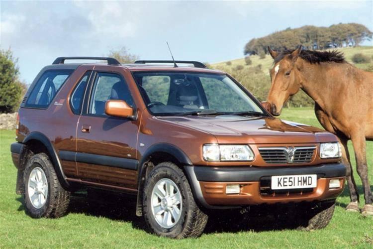 Opel Frontera A 1991 - 1998 SUV 3 door #4