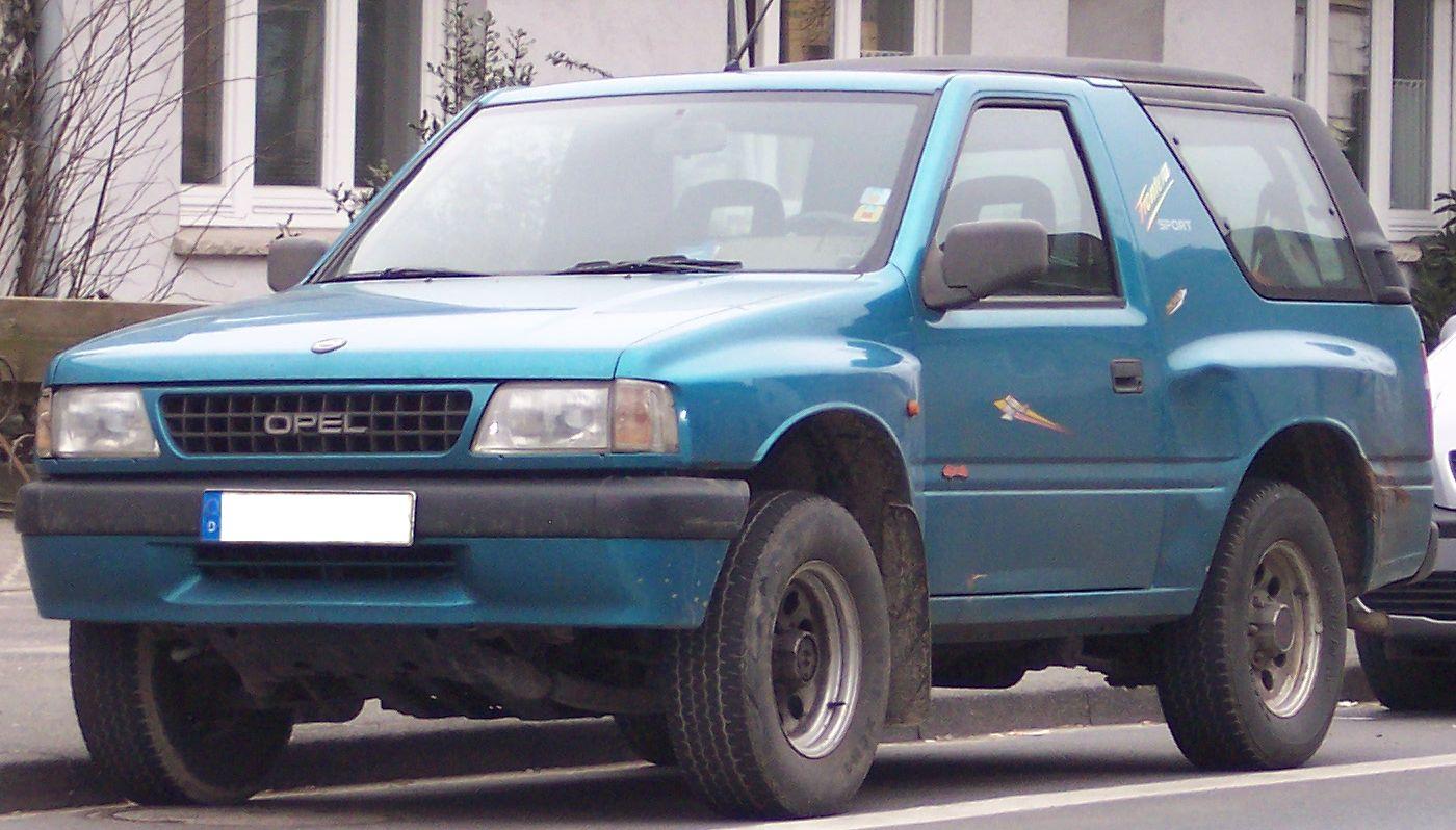 Opel Frontera A 1991 - 1998 SUV 3 door #7