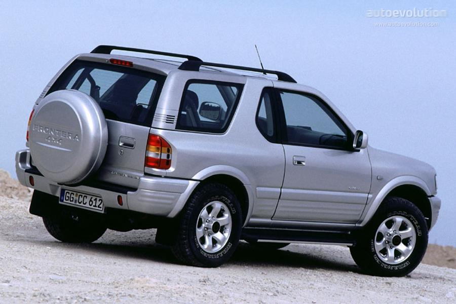 Opel Frontera B Restyling 2001 - 2004 SUV 3 door #7