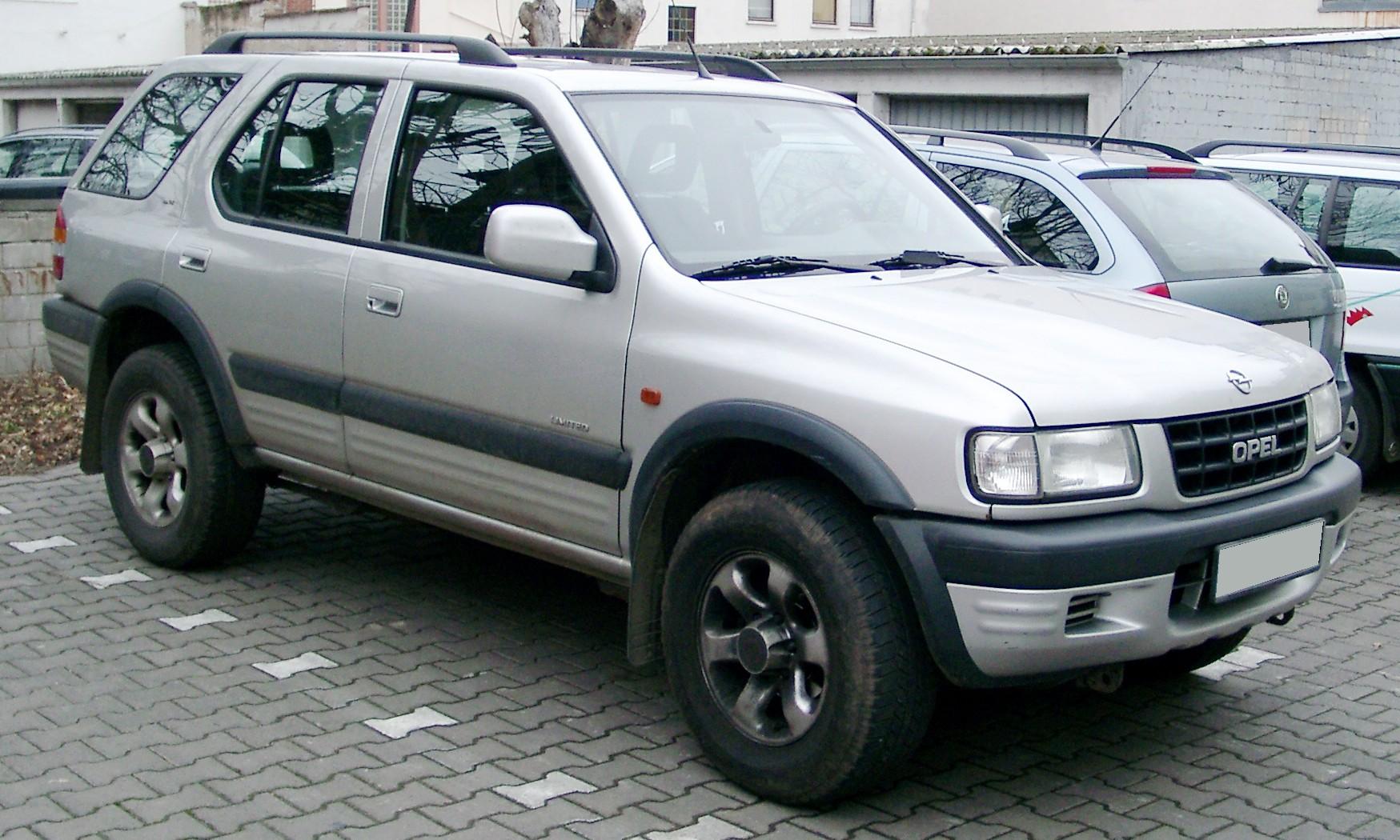 Opel Frontera B Restyling 2001 - 2004 SUV 3 door #6