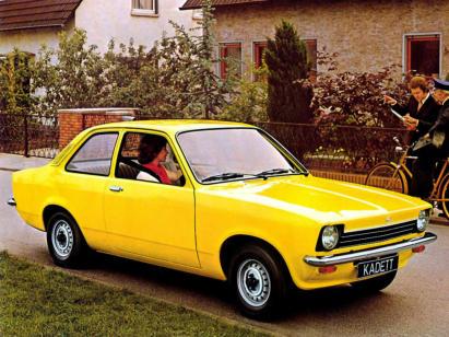 Opel Kadett C 1973 - 1979 Coupe #7