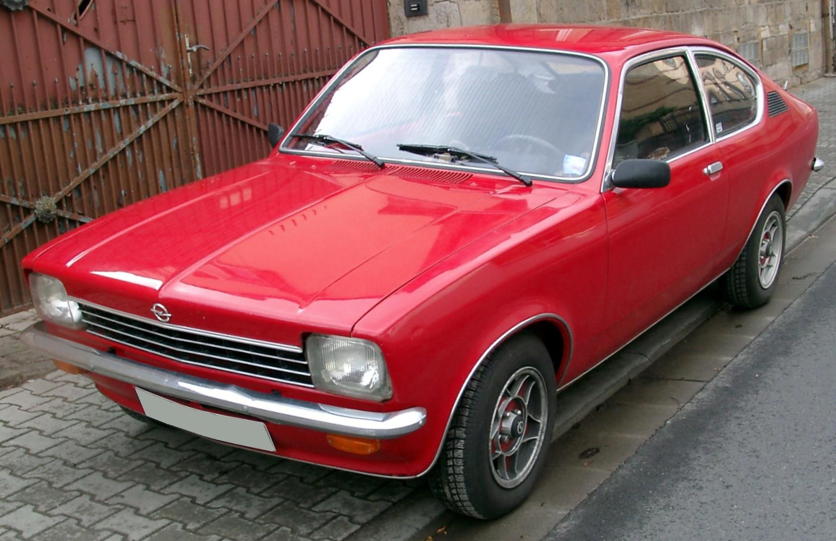 Opel Kadett C 1973 - 1979 Coupe #1