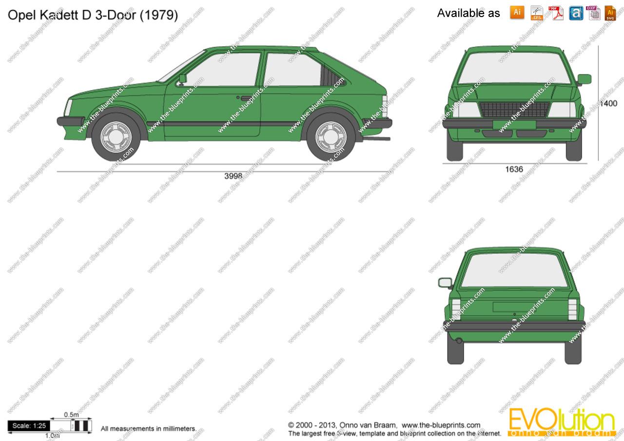 Opel Kadett D 1979 - 1984 Hatchback 3 door #3