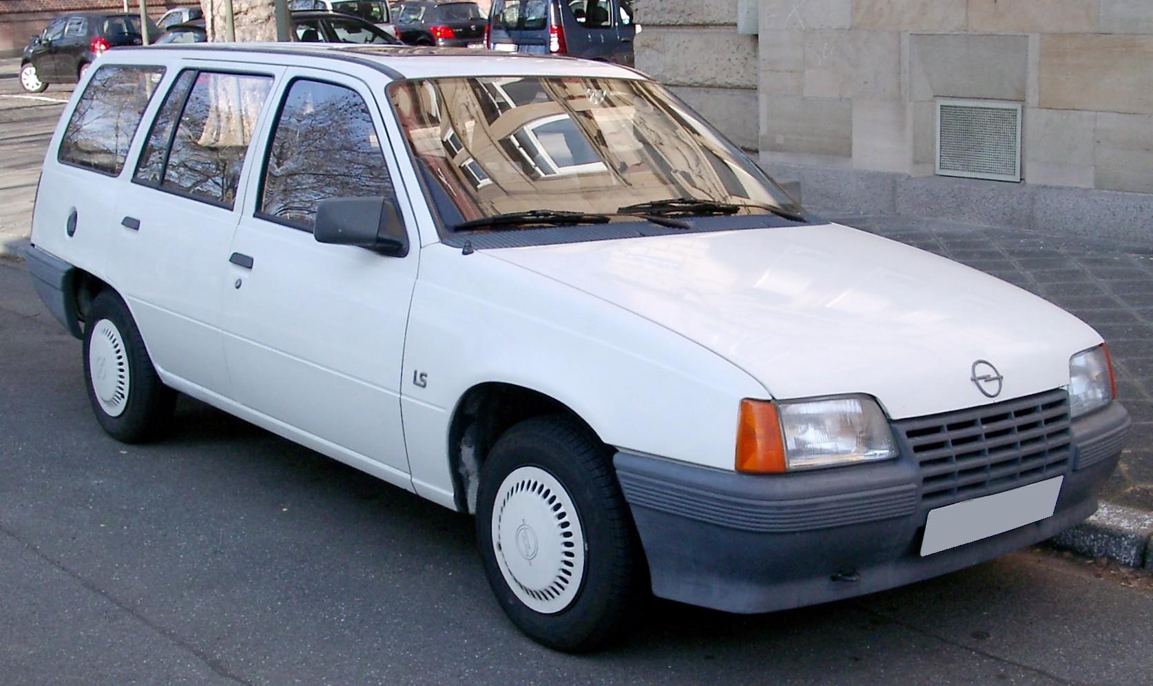 Opel Kadett E Restyling 1989 - 1993 Sedan #2