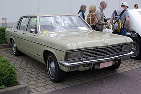 Opel Kapitan B 1969 - 1970 Sedan #8