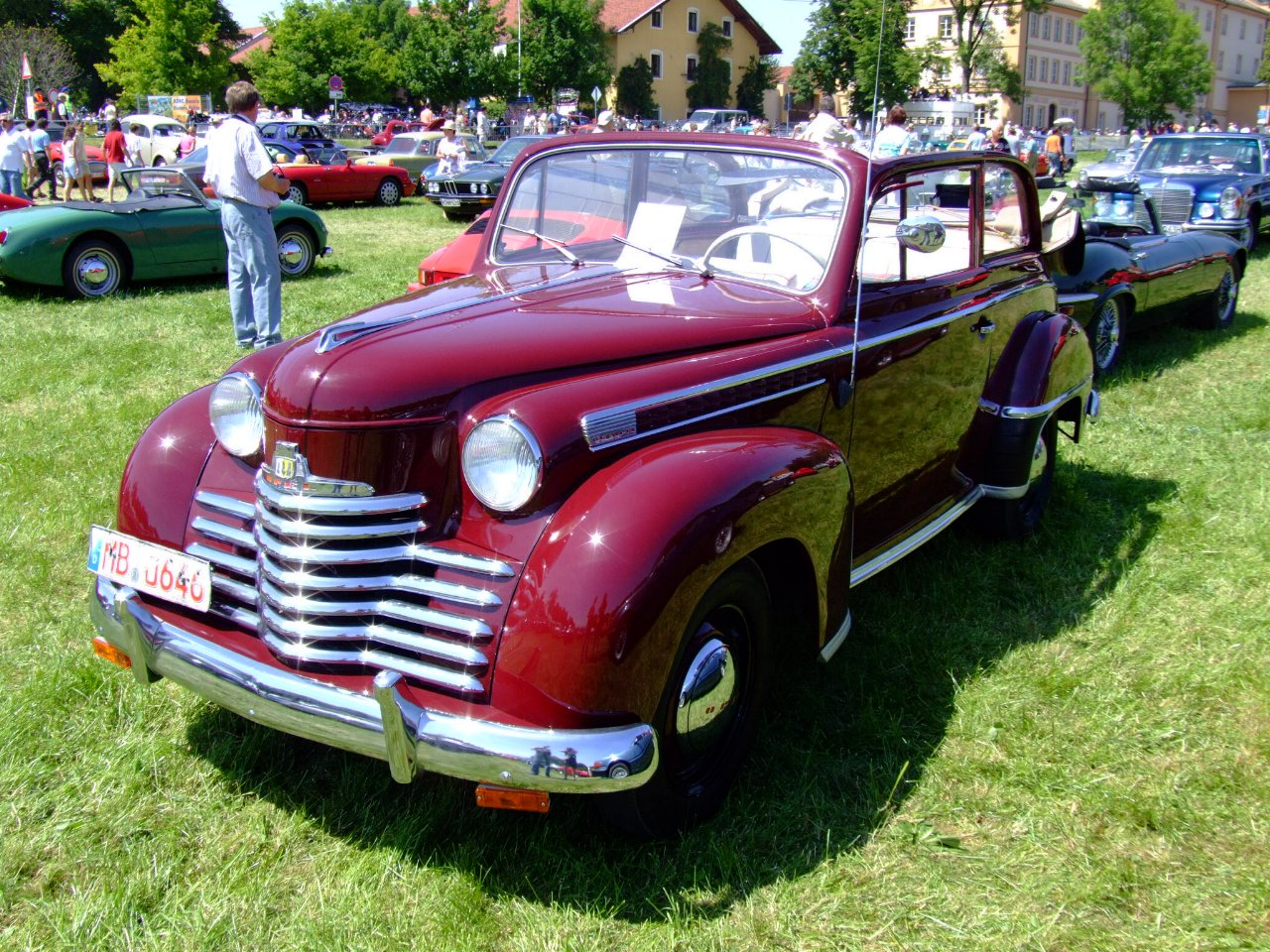 Opel Olympia II 1950 - 1953 Cabriolet #8