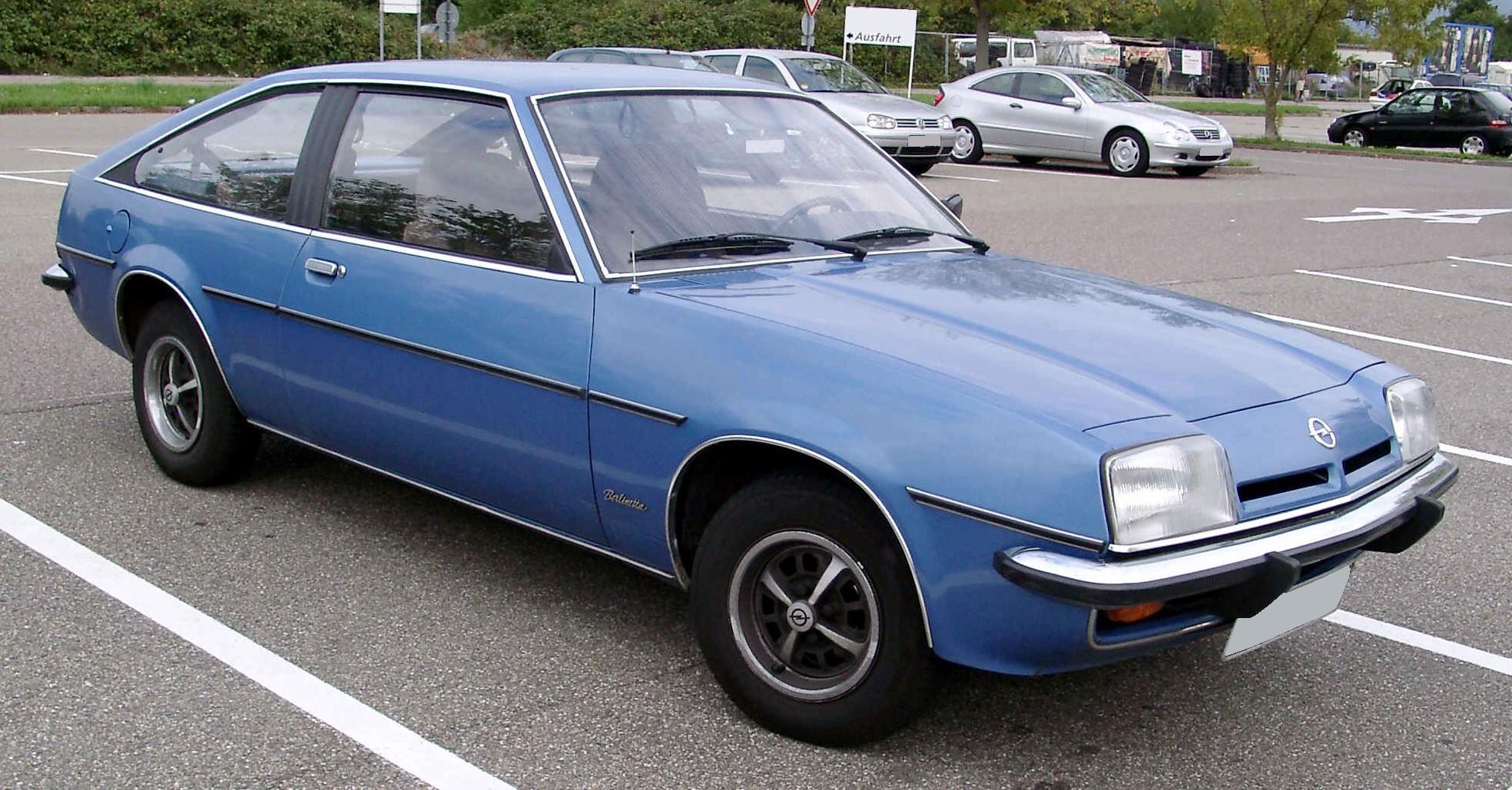 Opel Manta B 1975 - 1988 Coupe #1