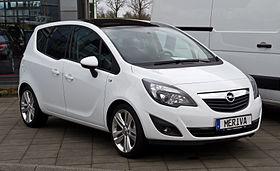 Opel Meriva B 2010 - 2014 Compact MPV #8