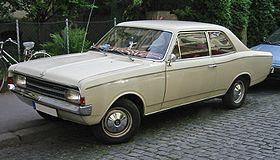 Opel Olympia A 1967 - 1970 Sedan #7