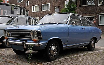 Opel Olympia A 1967 - 1970 Sedan #6