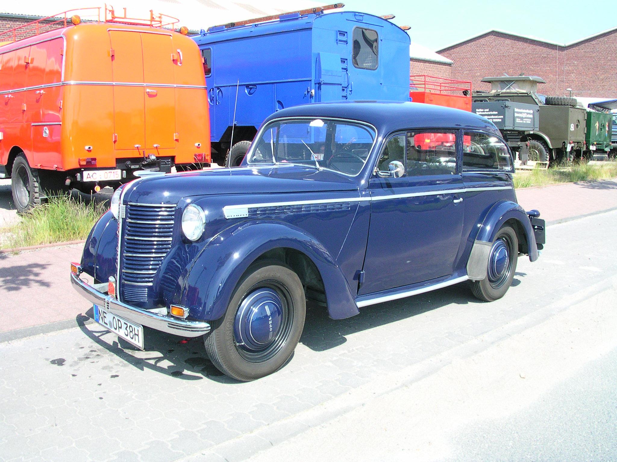 Opel Olympia I 1935 - 1949 Sedan #3