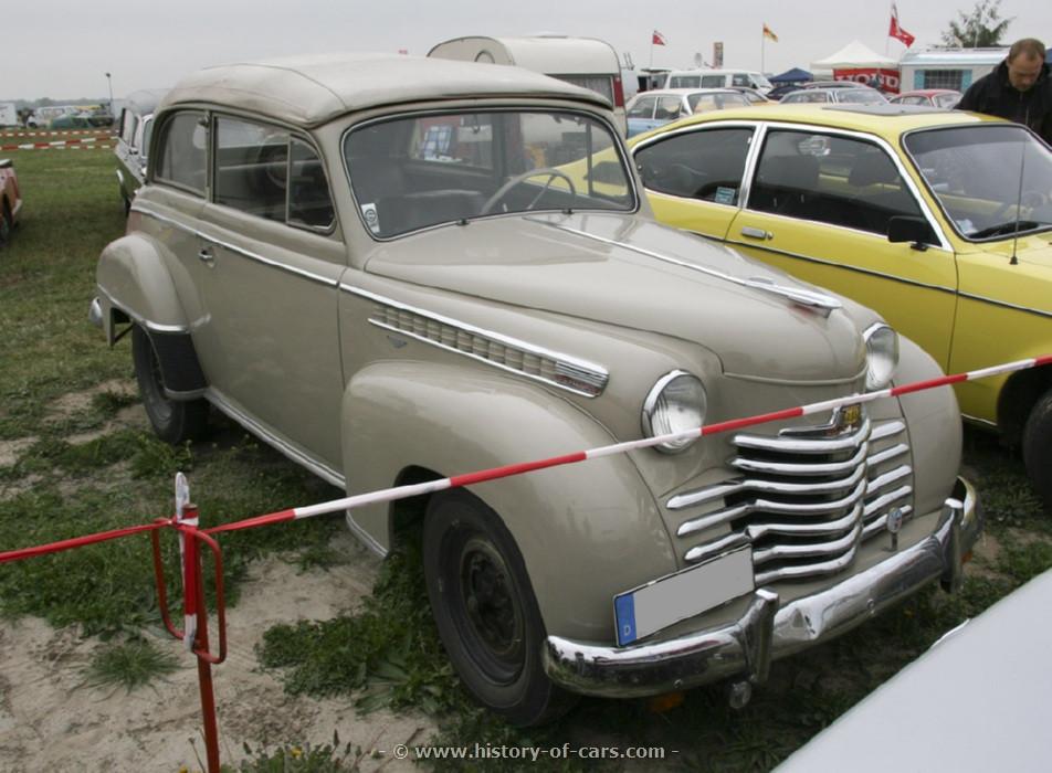 Opel Olympia II 1950 - 1953 Cabriolet #3