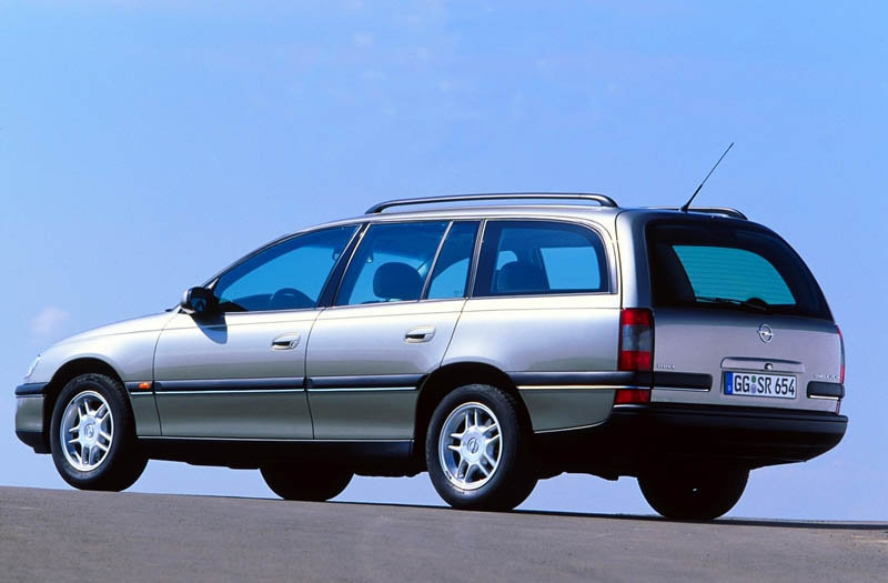 Opel Omega B Restyling 1999 - 2003 Station wagon 5 door #5