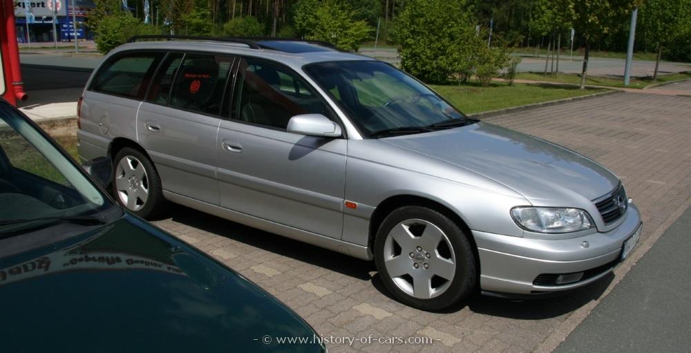Opel Omega B Restyling 1999 - 2003 Station wagon 5 door #3