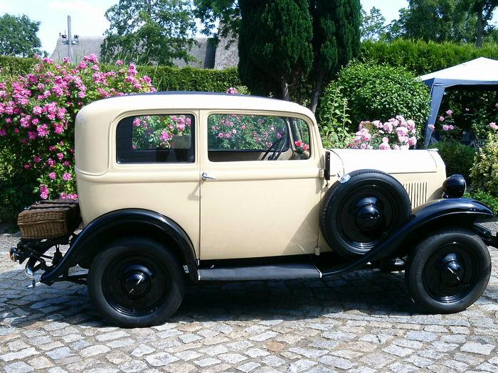 Opel P4 1935 - 1937 Hatchback 3 door #2