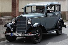 Opel P4 1935 - 1937 Hatchback 3 door #4