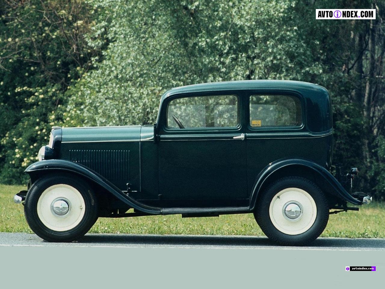 Opel P4 1935 - 1937 Hatchback 3 door #7