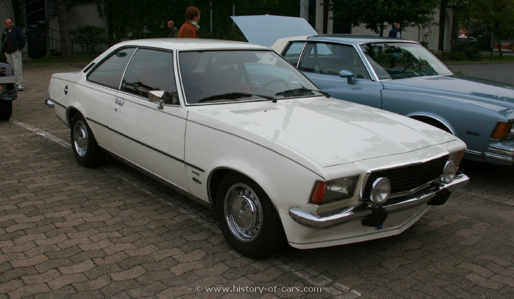 opel rekord d 1972 1977 coupe outstanding cars. Black Bedroom Furniture Sets. Home Design Ideas